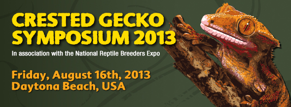 Crested Gecko Symposium 2013